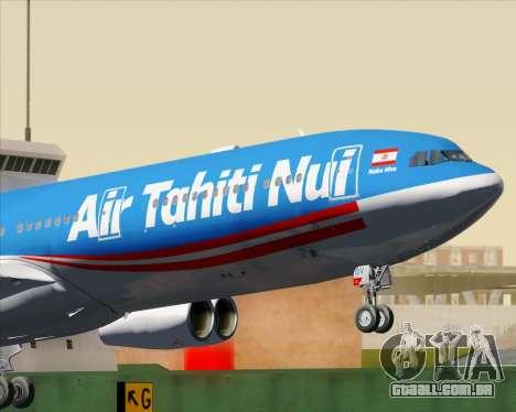 Airbus A340-313 Air Tahiti Nui para o motor de GTA San Andreas