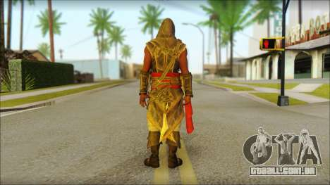 Adewale from Assassins Creed 4: Freedom Cry para GTA San Andreas segunda tela