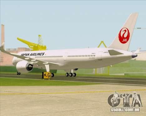 Airbus A350-941 Japan Airlines para GTA San Andreas vista direita