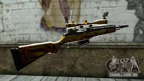 Nitro Sniper Rifle para GTA San Andreas segunda tela