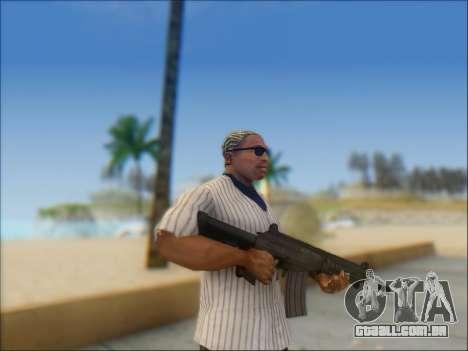 Israelenses carabina ÁS 21 para GTA San Andreas por diante tela