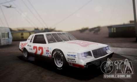 Buick Regal 1983 para GTA San Andreas vista superior