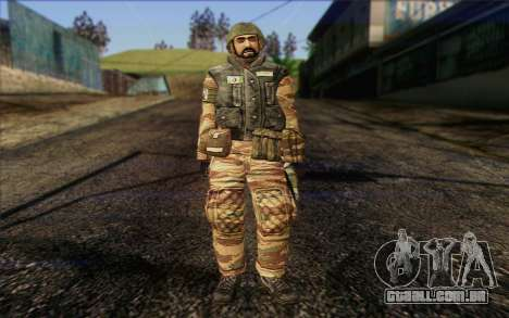 Soldados MEK (Battlefield 2) Pele 1 para GTA San Andreas
