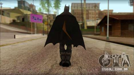 Batman From Batman: Arkham Origins para GTA San Andreas segunda tela