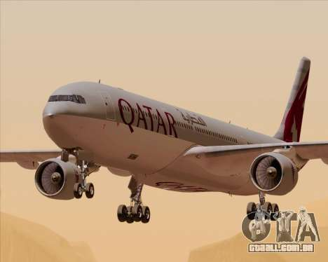 Airbus A330-300 Qatar Airways para GTA San Andreas