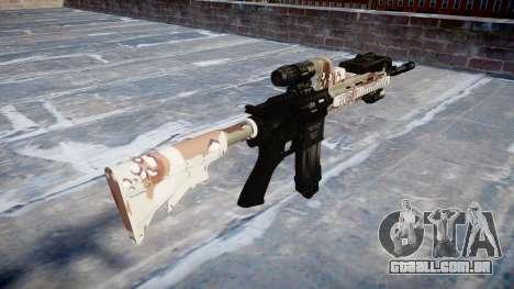 Automatic rifle Colt M4A1 choco para GTA 4 segundo screenshot