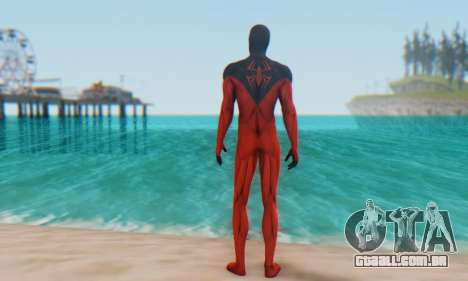 Skin The Amazing Spider Man 2 - Scarlet Spider para GTA San Andreas terceira tela