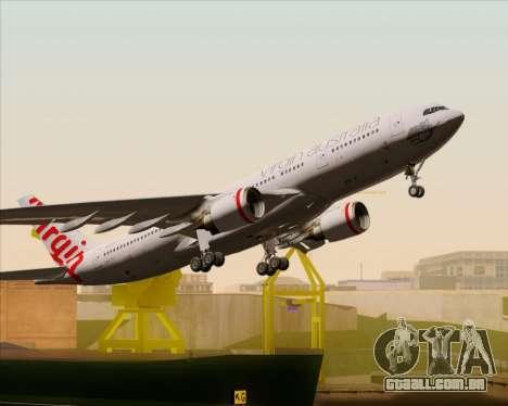 Airbus A330-200 Virgin Australia para o motor de GTA San Andreas