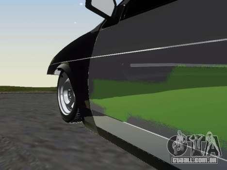 VAZ 2109 para GTA San Andreas vista inferior