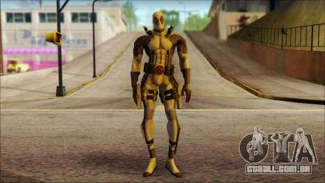 Xforce Deadpool The Game Cable para GTA San Andreas