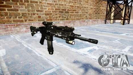 Automatic rifle Colt M4A1 fantasmas para GTA 4