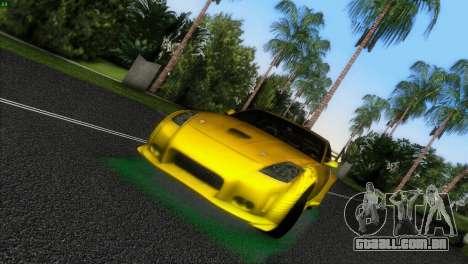 Nissan 350Z Veiside Chipatsu para GTA Vice City deixou vista