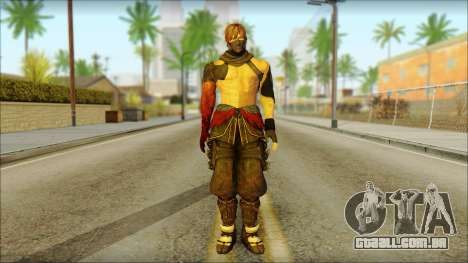 Ryu True Fighter From Dead Or Alive 5 para GTA San Andreas