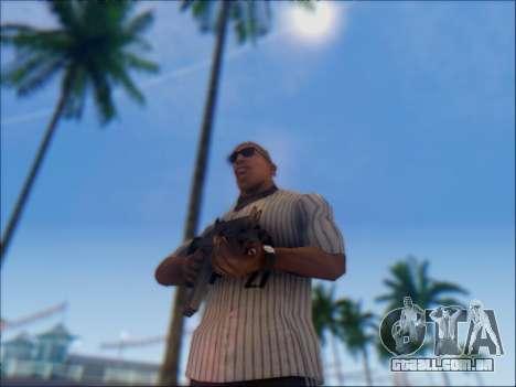 Israelenses carabina ÁS 21 para GTA San Andreas sexta tela