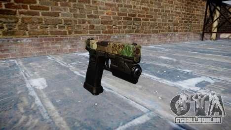 Pistola Glock de 20 ronin para GTA 4