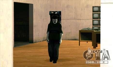 O Fantasma Do Big Smoke para GTA San Andreas segunda tela