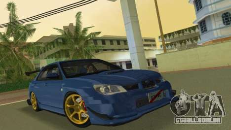 Subaru Impreza WRX STI 2006 Type 2 para GTA Vice City deixou vista