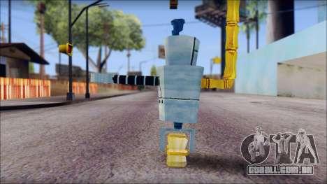 Hamsmp from Sponge Bob para GTA San Andreas segunda tela