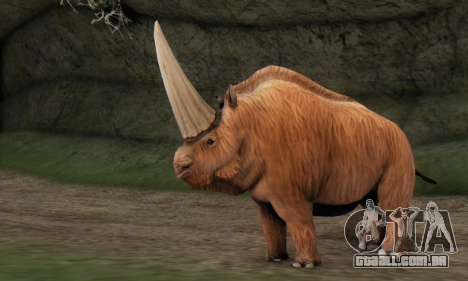 Elasmotherium (Extinct Mammal) para GTA San Andreas