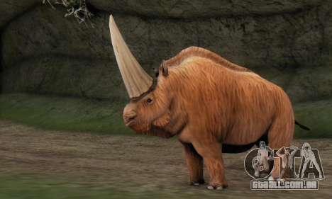 Elasmotherium (Extinct Mammal) para GTA San Andreas