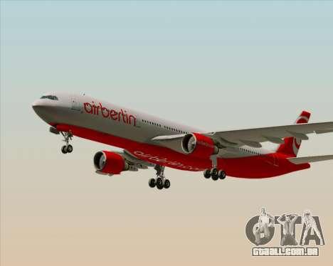 Airbus A330-300 Air Berlin para o motor de GTA San Andreas