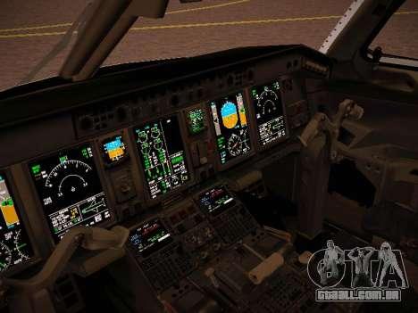 Embraer E190 Azul Tudo Azul para vista lateral GTA San Andreas