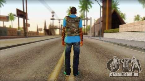 Skin Sicario GTA V By Cesar Hardy para GTA San Andreas segunda tela