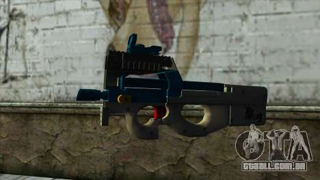 P90 from PointBlank v6 para GTA San Andreas