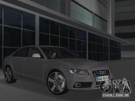 Audi S4 (B8) 2010 - Metallischen para GTA Vice City