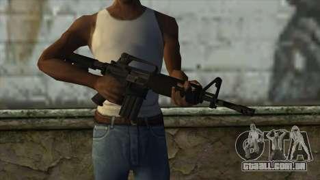 TheCrazyGamer M16A2 para GTA San Andreas terceira tela