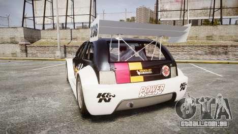 Zenden Cup K&N Airfilters para GTA 4 traseira esquerda vista
