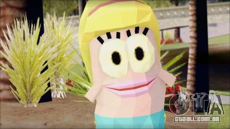 Blfemfish from Sponge Bob para GTA San Andreas terceira tela
