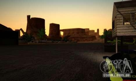 ENB Series by phpa v5 para GTA San Andreas décimo tela