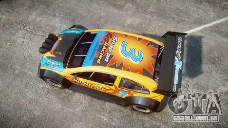 Zenden Cup Snap-On para GTA 4 vista direita