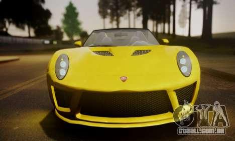 Voltic from GTA 5 (IVF) para GTA San Andreas traseira esquerda vista