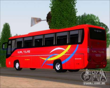 Yanson Viking 4th Generation Rural Tours 10010 para GTA San Andreas vista direita