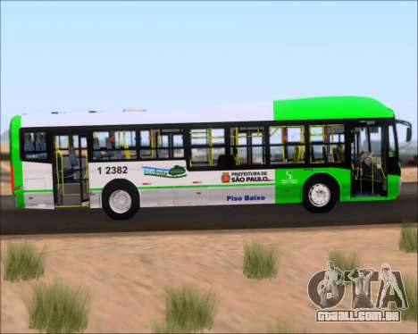 Caio Induscar Millennium BRT Viacao Gato Preto para GTA San Andreas vista interior