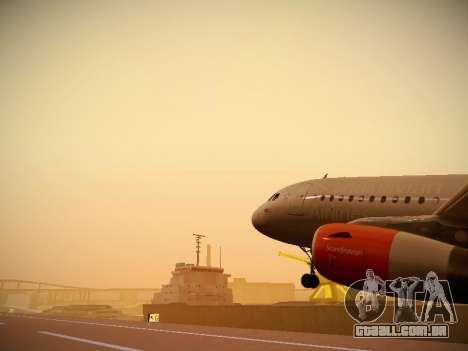 Airbus A319-132 Scandinavian Airlines para o motor de GTA San Andreas