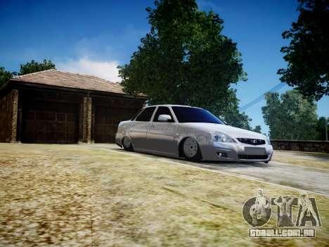 VAZ 2170 para GTA 4 vista interior