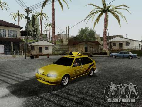VAZ 2114 TMK afterburner para GTA San Andreas