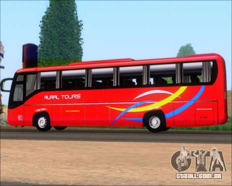 Yanson Viking 4th Generation Rural Tours 10010 para GTA San Andreas vista interior