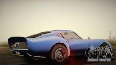 GTA 5 Stinger GT para GTA San Andreas esquerda vista