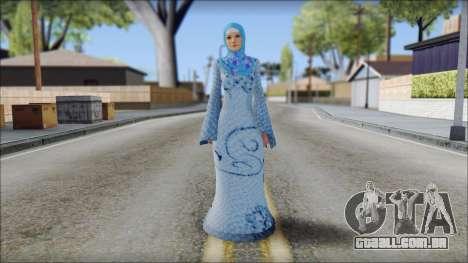 Gaza Tina Armstrong para GTA San Andreas