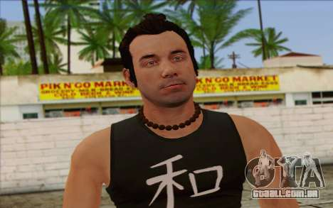 Fabien LaRouche from GTA 5 para GTA San Andreas terceira tela