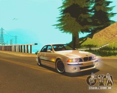 LS ENB by JayZz para GTA San Andreas por diante tela