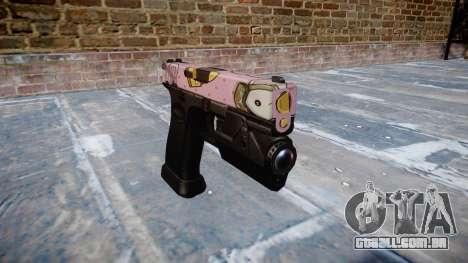 Pistola Glock de 20 kawaii para GTA 4