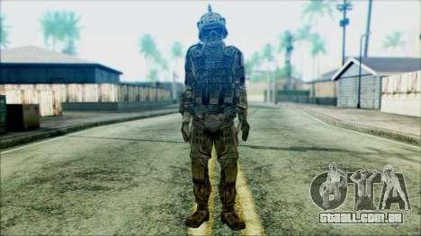 Soldados da equipe Fantasma 3 para GTA San Andreas