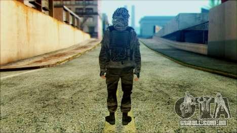 Soldados a bordo (CoD: MW2) v4 para GTA San Andreas segunda tela