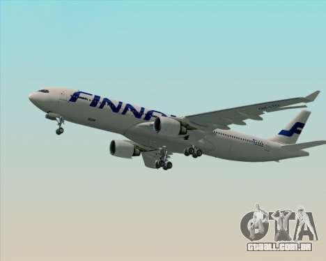 Airbus A330-300 Finnair (Current Livery) para o motor de GTA San Andreas