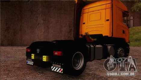 Scania R500 Streamline para GTA San Andreas esquerda vista